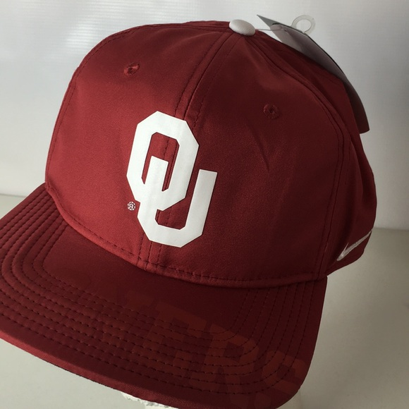new product 84f49 9be22 ... purchase nike dri fit oklahoma sooners hat snapback swoosh d0dcb a0ade